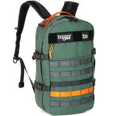 forest green canvas daypack