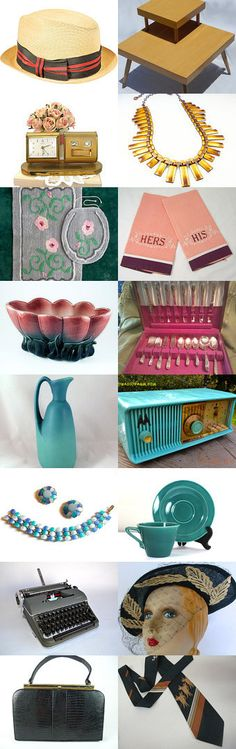 Those Fabulous #Fifties! A #GotVintage Shops Treasury by Bonnie's Vintage Attic by Bonnie W. on Etsy #1950s #50style #vintage