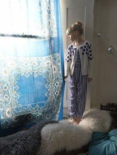 série mode: home alone | MilK - Le magazine de mode enfant