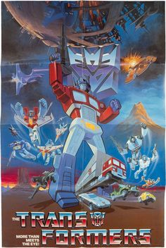 Transformers TV Series Poster (Sunbow Productions, Inc., 1984)