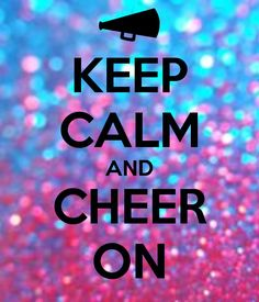 "Yeah! That's right! Here's one of our cheers! My fav 1! ""What's your favorite colors? Navy blue and gold!! Say it again louder! Navy, gold!"" Repeat! Lol. #Cheer!"