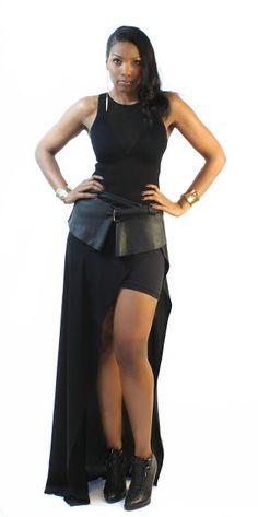 Beaute' J'adore: DIY Leather Peplum Belt