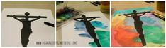 Easy Holy Week Watercolor Art