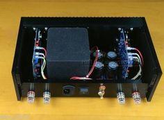 207.10$  Buy now - http://alikgy.worldwells.pw/go.php?t=32688898090 - Classic QUAD405 Clone Power amplifier Audio amp 100W+100W ONSEMI MJ15024 L165-47