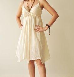 Casual bridesmaid dress or a cute relaxing rehearsal dinner dress.