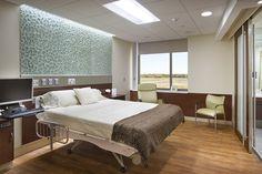 Marlite Friday Feature: Via Christi Hospital Women's Center - Pittsburg KS Healthcare Architecture, Healthcare Design, Modern Hospital, Medical Office Design, Hospital Room, Hospital Design, Clinic Design, Clinique, Home Furniture