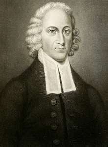 Johnathan Edwards (Oct 5, 1703 - March 22, 1758), entered Yale at the age of 13; friend of Isaac Watts; later President of Princeton University.