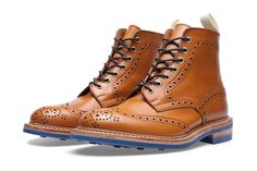 Trickers x End Hunting Co. Stow Brogue Boot