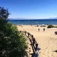 Lake Tahoe Summers.. I love this beach on the lake! 💙