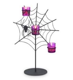 Spider Web Votive Holder (Partylite)