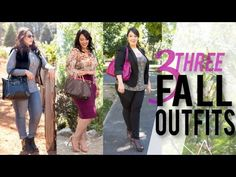 Checkout my latest fashion video, '3 Fall Outfits For Curvy Girls'. I had so much fun taping this for you! PLEASE be happy with YOU no matter your size!