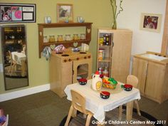 This dramatic play area is the best, simple yet very practical and looks like…