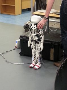 Poppy 3D printed humanoid robot... (But you'll need $8000+!!!)
