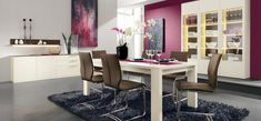 Dining Room Ideas:Semi Contemporary Concept Design In Dining Room 30 Contemporary Dining Rooms