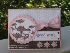 Chocolate Daisies 4 in 1 by DJLuvs2stamp - Cards and Paper Crafts at Splitcoaststampers