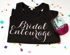 Looking for the perfect bridesmaid gift or bridal party present? We make the gift giving easy for you by offering you presents that are packaged and ready for you to give to your bridesmaids. Check out of wide selection of monogram gifts and more. Bridal Party Presents, Bridal Entourage, Bridesmaid Gifts, Bridesmaids, Monogram Gifts, Sweatshirts, Wine Glass, Dreams, Inspired