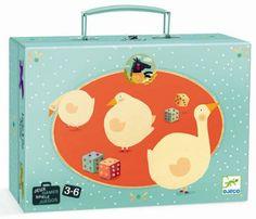 Ekologiczne zabawki - Ubrania - Kosmetyki dla dzieci - Gra planszowa Gęsi DJECO DJ05226