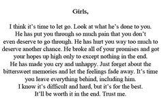 Dear Girls - Relationship Rules