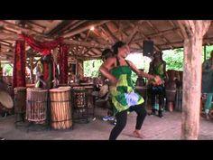 Dansen op djembe muziek!