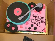 Sock Hop Graphics | The cake was from Happy Cake Company in Spokane