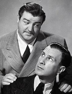 Abbott and Costello... It is Amazing how smart and creative comedians were back then.  Now comedy is just throwing around the F--- word.  Re: Cathy Griffith or Griffin.  It insults the intelligence of the American people.