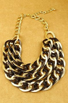 KocoSky - Multi Color Chain Necklace Set, $25.00 (http://www.kocosky.com/multi-color-chain-necklace-set/)