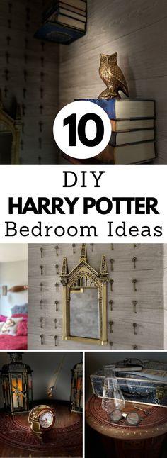 10 DIY Harry Potter Bedroom Ideas