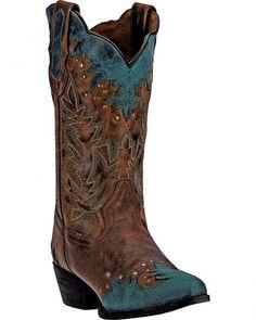 Laredo Antigua Snip Toe Cowgirl Boots 52148