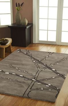 Tree Branches Area Rug