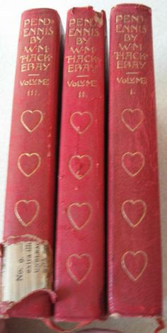 The History of Pendennis William Makepeace Thackeray 3 Volumes His Fortunes and Misfortunes His Friends and His Greatest Enemy by ShopWithLynne for $14.00