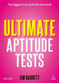 Free download or read online ultimate aptitude tests, assess your potential with aptitude, motivational and personality tests by Jim Barrett.