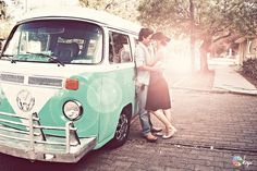 that's it. I am so renting a hippy van for my engagement photos. If I don't own one by then.