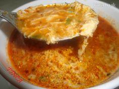 Zapražená polievka s liatím