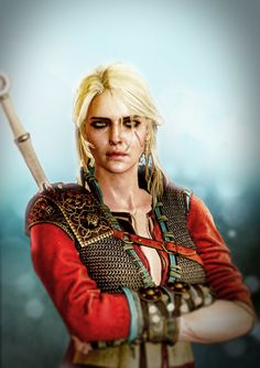 100 sorceresses Ciri 5 by aschmit