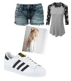 """""""Untitled #26"""" by immortalheart on Polyvore featuring adidas, LE3NO and Miss Me"""