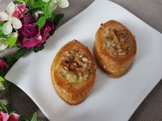Nightingale Nest Rezept ~ Unsere P & S Paradise Cuisine, Muffin Recipes, Cookie Recipes, Walnut Recipes, Wrap Recipes, Meatball Recipes, Street Food, Bagel, Food Videos, Cooking