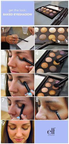 Get the Look! With Studio Baked Eyeshadow    http://www.eyeslipsface.com/blog.asp?blog_id=1001179=1