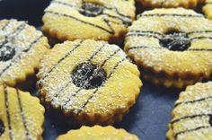 Puha linzertészta Cookie Recipes, Muffin, Favorite Recipes, Pasta, Cookies, Baking, Breakfast, Sweet, Food