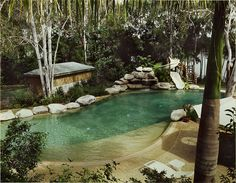 make this a natural pool, and I'll take it. Not that I would say no either way.