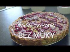 VIDEO RECEPT: Fit tvarohový koláč bez múky - Zdravé recepty - Cvičte.sk