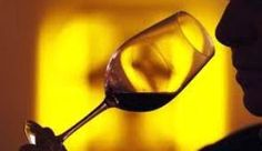 Tasting wine..
