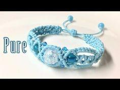 Macrame tutorial: the Pure spirit bracelet - Hướng dẫn tự thắt vòng tay thủ công cực dễ dàng - YouTube