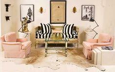Girly Glamour, living room