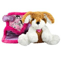 Barbie Sleepover Party Pups Tan and White. Bear Shop, Sleepover Party, Pre School, Fashion Dolls, Pup, Barbie, Snoopy, Toys, Animals