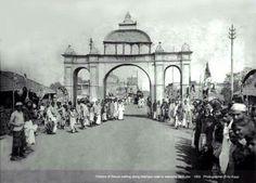 1904, Imambara Hossaini building, Old Dhaka, Dhaka, Bangladesh.
