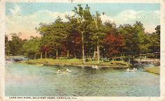 Lake and Park, Soldiers' Home, Danville, Ill.
