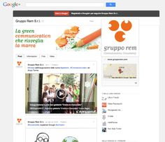 La pagina di Gruppo Rem, #communications consultancy, su #Googleplus