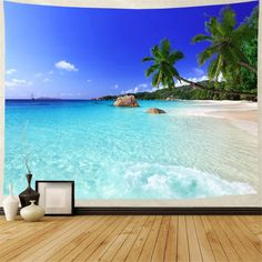 Discover the best beach themed tapestries and coastal wall tapestries. We love beach wall decor and tapestries are affordable and beautiful, which makes them a great option. Tree Tapestry, Tapestry Beach, Bohemian Tapestry, Tapestry Wall Hanging, Hippie Bohemian, Bohemian Decor, Ocean Artwork, Wall Taps, Hanging Flower Wall