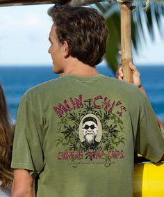 Mun Chi's - Hemp-Dyed Crew Neck T-Shirt Kids Shirts, T Shirts For Women, Crazy Shirts, Neck T Shirt, Hemp, Crew Neck, Mens Tops, Fashion, Moda