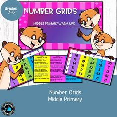 Teaching notesThese slides are perfect for number warm ups or as an extension activityThe last two slides are editable so that you can choose your own numbers for this activity, or get the students to create their own number grids to solve.The font used in the making of this resource isAGSorrynotsor... Number Grid, Learning Objectives, Numbers, Students, Facts, Warm, Teaching, Activities, Create